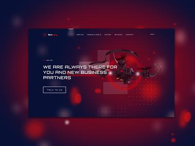 electronics website redesign ux ui illustrator figma design web