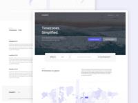 timeshift.io Landing Page V2