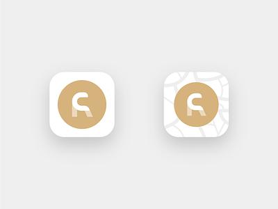 RC App-Icon digital ios icon app brand corporate identity sign logotype logomark identity branding logo