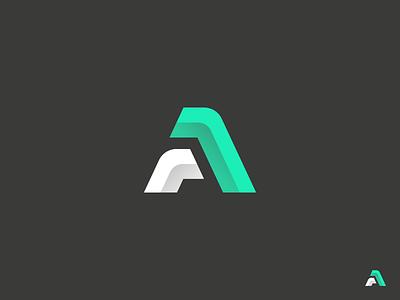 A Logo typography font brand corporate identity sign logotype portfolio logomark identity branding logo