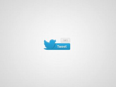 Twitter Button twitter share button bird social blue tweet ui