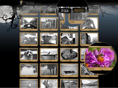pcklab.com - menu & thumbnail hover