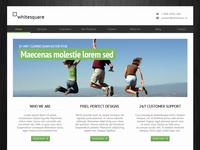 Freebie - Greenish template