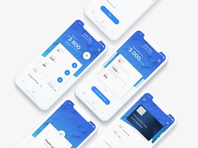 Mobile Telecom App payment method internet call sms telecom product design payment app uiux mobile app