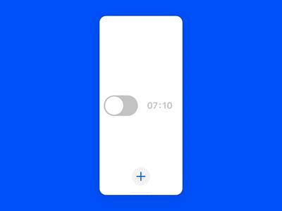 Alarm clock concept alarm concept ux uidesign