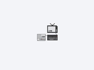 Pixel Tv pixel art