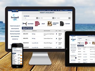 Seafoods.com Responsive Site