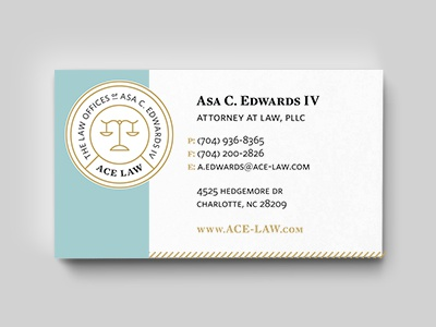 ACE LAW Card Mock