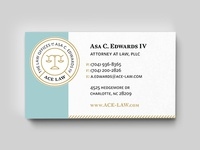 ACE LAW Card Mock