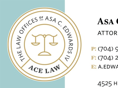 ACE LAW Detail lawyer law firm logo