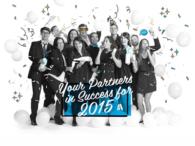 Atypic 2014 Holiday Poster - Happy New Years!