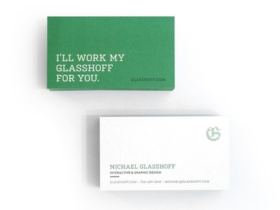 Glasshoff Business Cards 2015