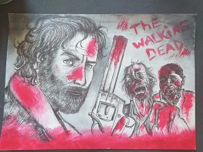 The Walking Dead zombies bd serie walkingdead