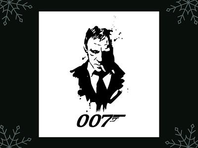 James Bond illustration