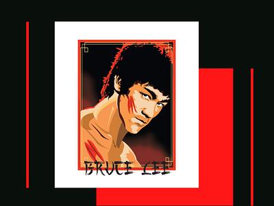 Bruce Lee ilustratoradobe renechateauvideo renechateau sinoamerican