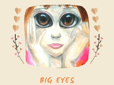 Big Eyes graphic design design illustration logo