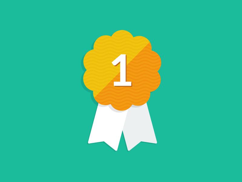 Flat Ribbon Badge badge ribbon icon award free freebie almost flat psddd psd