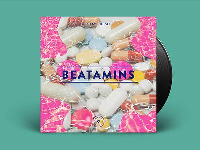 Beatamins Playlist beatamins vitamins playlist mixtape music record vinyl beats spotify chillout album art album cover