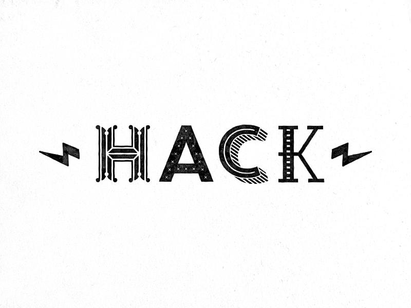 Hack hack day culture typography type codefest hackfest hackaton hack