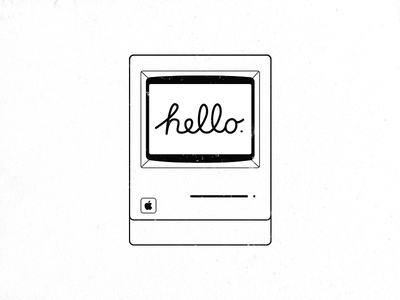 Hello Mac steve jobs computer apple classic macintosh hello