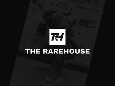 The Rarehouse - Logo icon design marketplace logomark monogram logo identity design branding