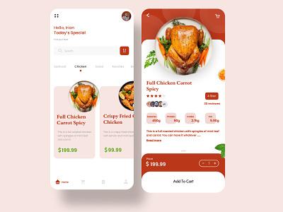 Restaurant app ui