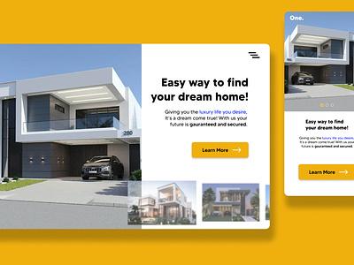 Real Estate website website design app branding graphic design ui