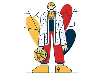 ☀ equinox ☀ tambourine series equinox design character vector illustration adobe illustrator