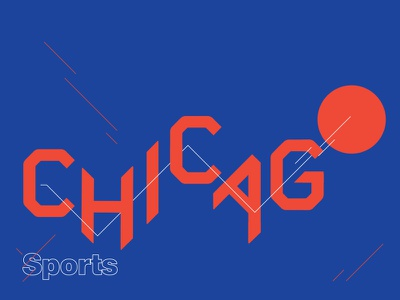 Chicago Lettering design lettering grid modern typography chicago