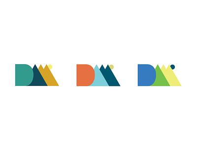 Denver Art Museum Logo Concepts color colors flatdesign branding logo graphics graphic design graphicdesign graphic flat design
