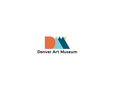 DAM Logo Concept (Vertical) colors color font typeface type flatdesign branding logo graphics graphic design graphicdesign graphic flat design