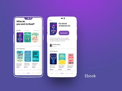 ebook design ui