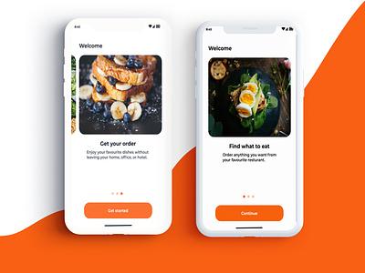 FOOD App ux app ui design