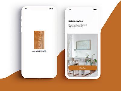 Furniture App ux ui design