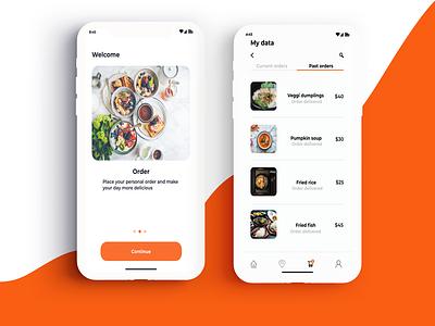 food app ux ui design