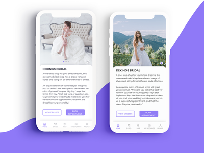 bridal Shop mobile app mobile app minimal illustration ui ux design
