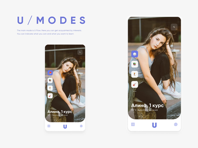 Dating Profile Animation hobbies interests uiux dailyui mosaic young love photos app emoji clean swipe minimal match social network students mobile dating profile animation
