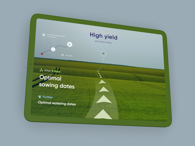 AR iPAD or AR HUD for agro-industry hud farm agronomy app guide route location vr gps graphic design ar map navigation map notifications ar ipad ar hud ar ipad agro illustration