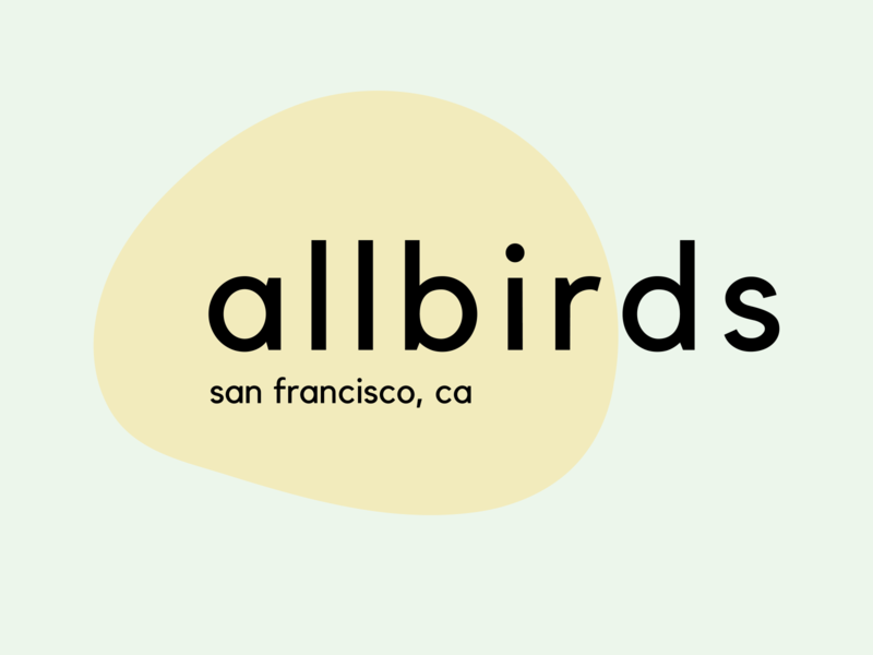 Allbirds Mock Rebrand Secondary Logo