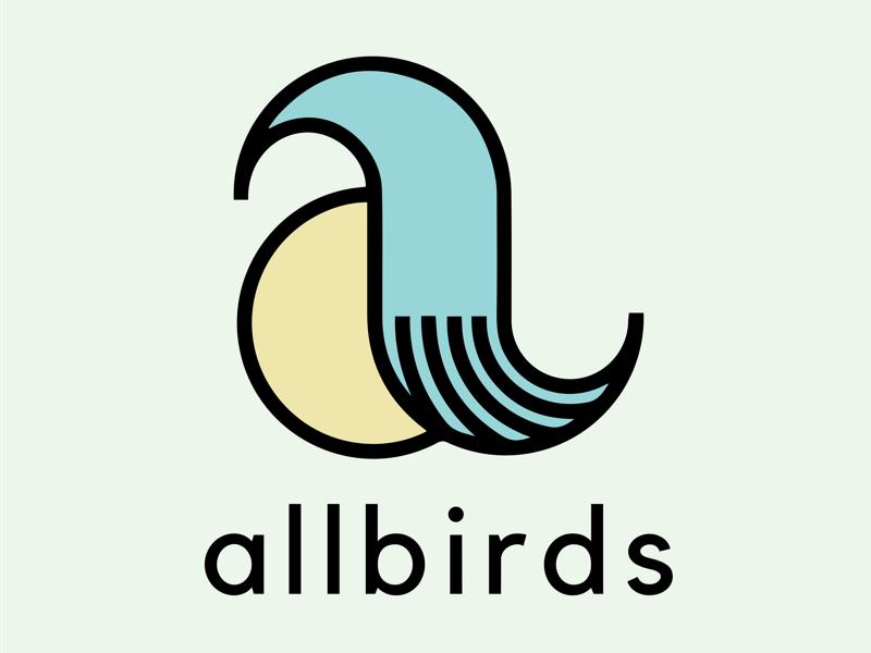 Allbirds Mock Rebrand Primary Logo brand identity branding logo design logo