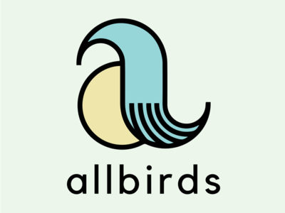 Allbirds Mock Rebrand Primary Logo