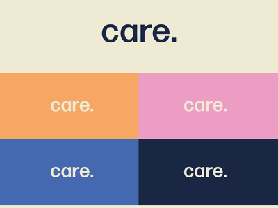 Care - Logotype uidesign ui identity design logodesign logotype