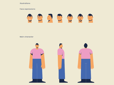Care - Character character design character