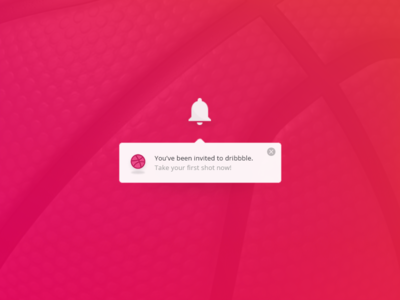 Hello Dribbble! web inbox uiux experience website user interface app notification interaction ux ui