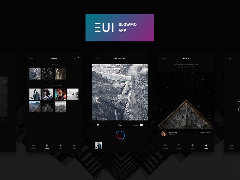 EUI Free Slowmo App PSD