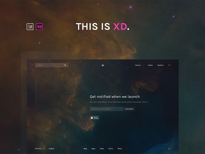 EUI Web Kit for Adobe XD adobe experience design adobe xd behance download gumroad freebie web design ui design ui kit web