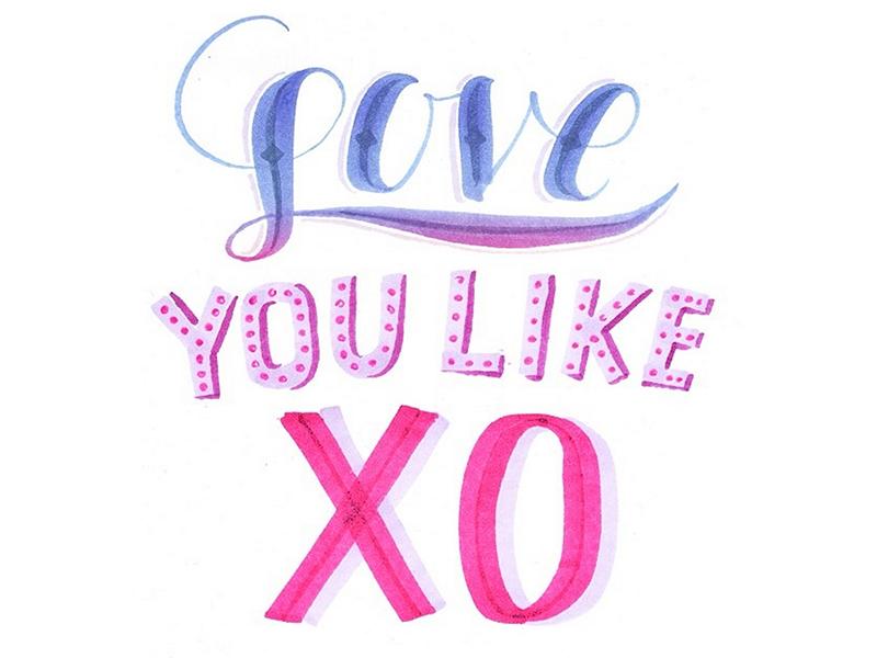 Regular Box: Love you like XO (February)- Available for