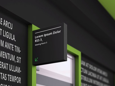 Office branding mock up by ayashi dribbble for Office branding ideas