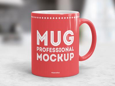 Coffee Mug Mockup realistic psd mockup mug cup cafe coffee mug mockup