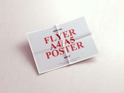 A4 / A5 Poster Flyer Mockup vol.3 print poster mock-up poster portrait mockup mock-up landscape flyer mockup flyer artwork a5 a4